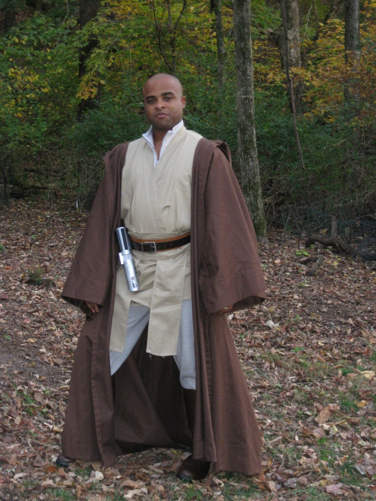 Chris as Mace Windu