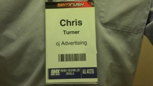 My SMX West All-Access Pass