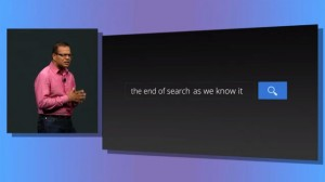 The end of search as we know it