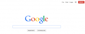 The New Google Homepage
